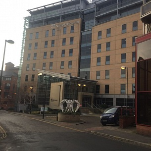 Nuffield Health Hospital in Leeds, UK